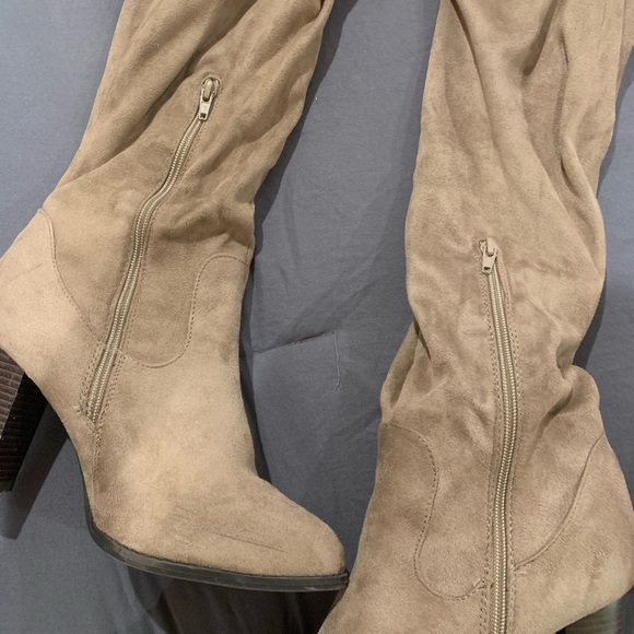 Qupid Shoes - Take Me Out Over Knee Boot